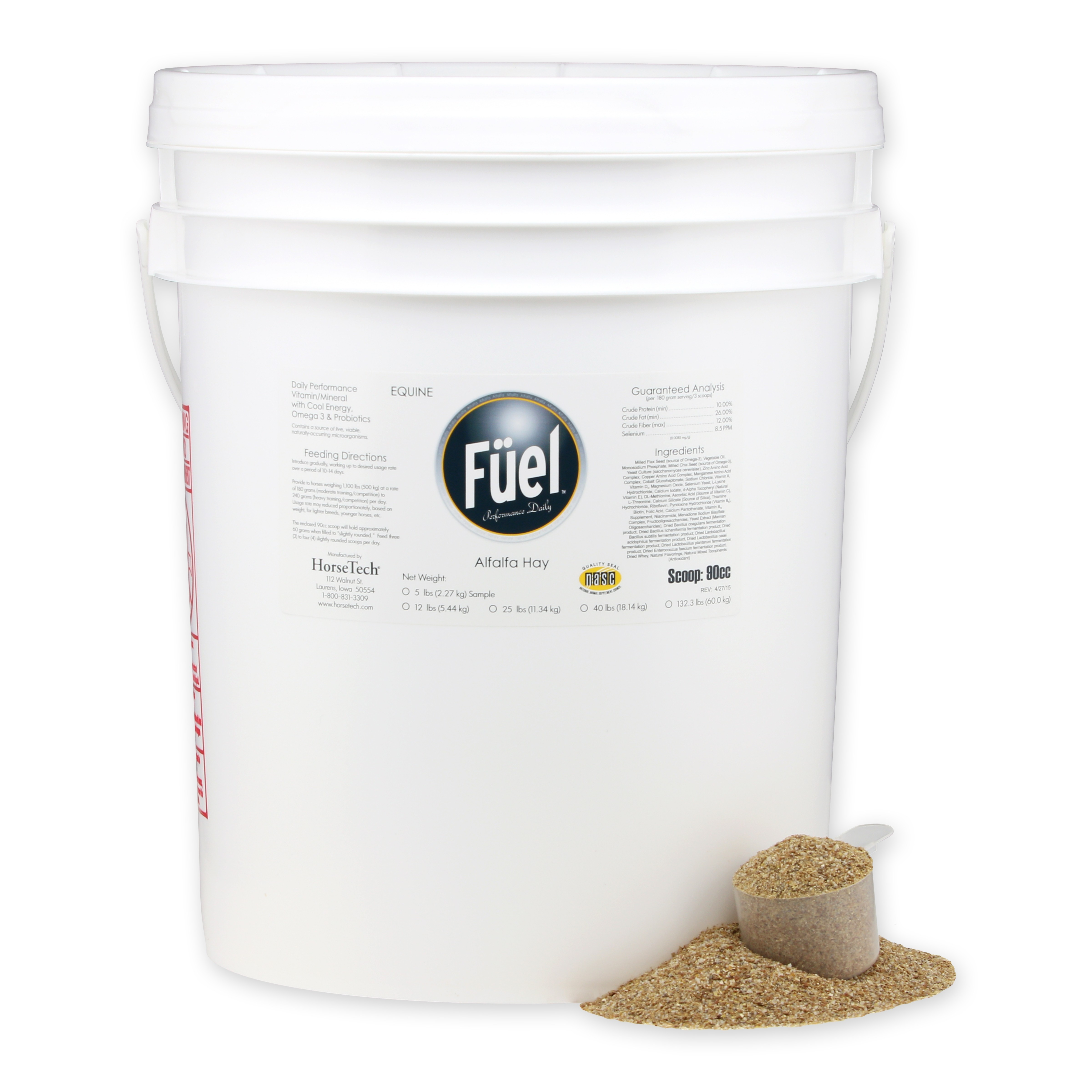 Fuel for Alfalfa Hay